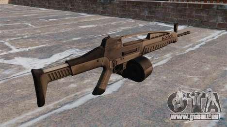 Automatische HK XM8 LMG v2. 0 für GTA 4 Sekunden Bildschirm