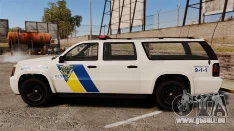 GTA V Declasse Police Ranger LCPD [ELS] pour GTA 4 est une gauche