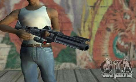 Fusil de Star Wars pour GTA San Andreas troisième écran