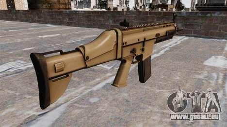 Automatique FN SCAR-L pour GTA 4 secondes d'écran
