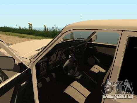 GAZ Volga 31105 pour GTA San Andreas vue arrière