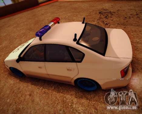 Subaru Legacy für GTA San Andreas zurück linke Ansicht