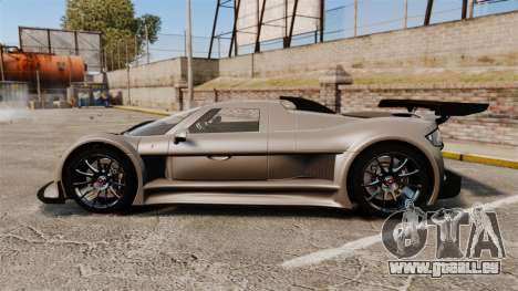 Gumpert Apollo S 2011 pour GTA 4 est une gauche