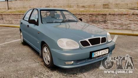 Daewoo Lanos 1997 PL für GTA 4