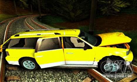 Landstalker GTA IV pour GTA San Andreas vue de dessous