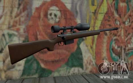 Sniper Rifle HD pour GTA San Andreas deuxième écran