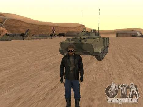 BMP-3 pour GTA San Andreas vue arrière