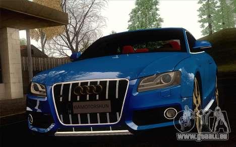 Audi S5 pour GTA San Andreas vue de droite