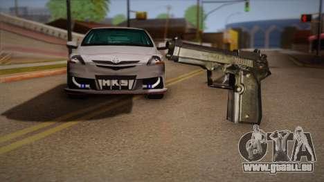 Le pistolet de la Max Payne pour GTA San Andreas