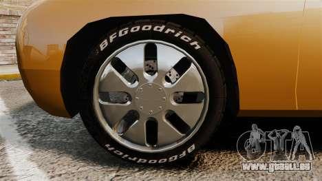 Ford Forty Nine Concept 2001 pour GTA 4 Vue arrière