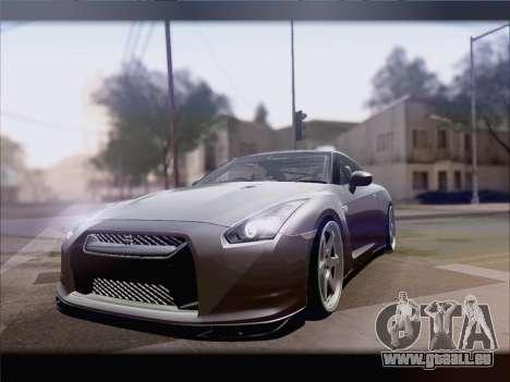Nissan GT-R Spec V Stance pour GTA San Andreas