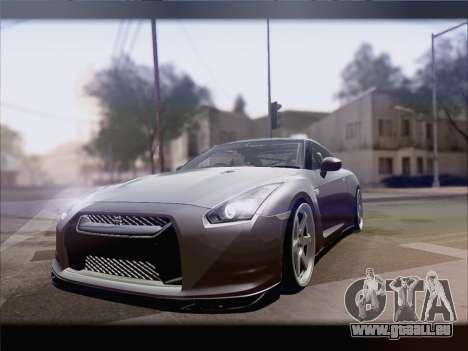 Nissan GT-R Spec V Stance für GTA San Andreas