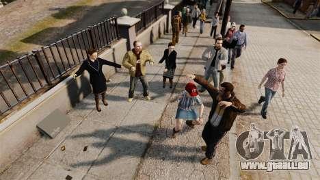 Le Script-danse - pour GTA 4 secondes d'écran