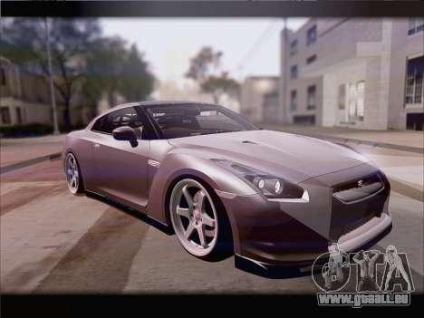 Nissan GT-R Spec V Stance pour GTA San Andreas laissé vue