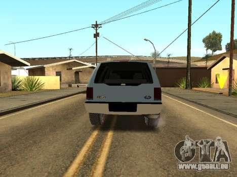 Ford Excursion pour GTA San Andreas vue de droite