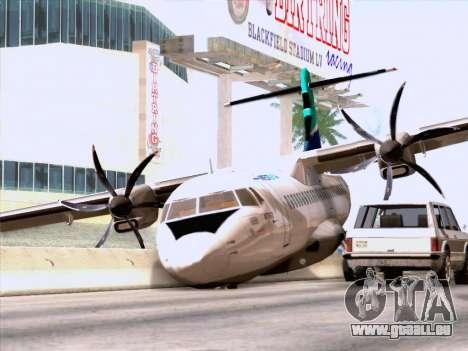 ATR 72-500 WestJet Airlines für GTA San Andreas