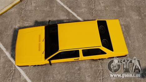 Volkswagen Voyage 1990 pour GTA 4 est un droit