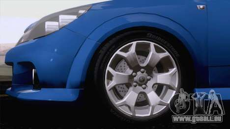 Vauxhall Astra VXR  2007 für GTA San Andreas linke Ansicht