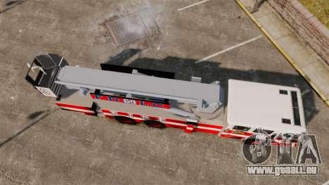 MTL Firetruck Tower Ladder FDLC [ELS-EPM] pour GTA 4 est un droit