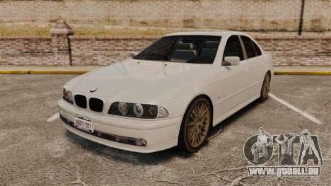 BMW 525i (E39) pour GTA 4