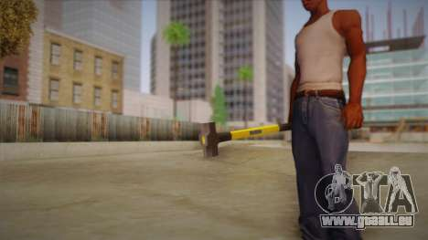 Sledge Hammer für GTA San Andreas her Screenshot