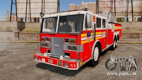 MTL Firetruck MDH1000 Midmount Ladder FDNY [ELS] pour GTA 4