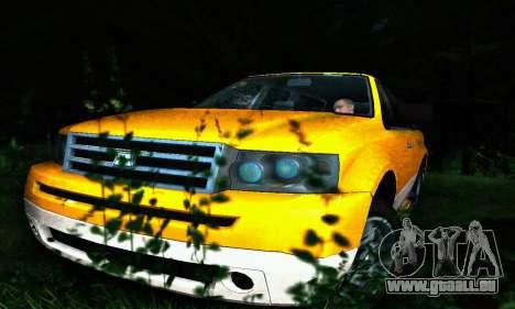 Landstalker GTA IV pour GTA San Andreas vue de dessus