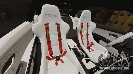 BMW M3 GTS Widebody pour GTA 4 Salon