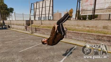 Parkour pour GTA 4 secondes d'écran