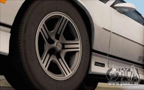 Chevrolet Camaro IROC-Z 1990 pour GTA San Andreas