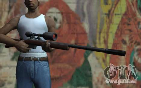 Sniper Rifle HD pour GTA San Andreas troisième écran