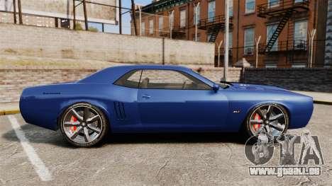 GTA V Declasse Gauntlet ZL1 für GTA 4 linke Ansicht
