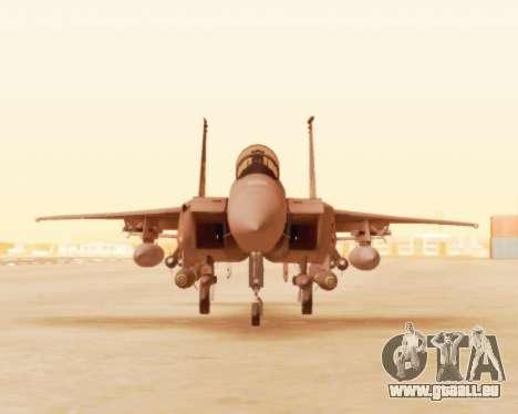 F-15E Strike Eagle für GTA San Andreas linke Ansicht