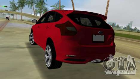 Ford Focus ST 2013 für GTA Vice City linke Ansicht