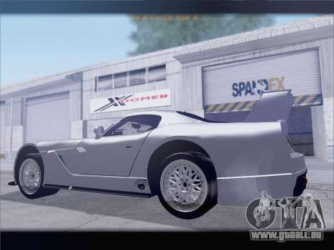 Dodge Viper Competition Coupe für GTA San Andreas rechten Ansicht