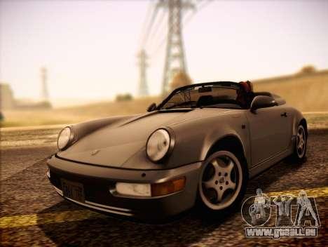 Porsche 911 Speedster Carrera 2 1992 pour GTA San Andreas