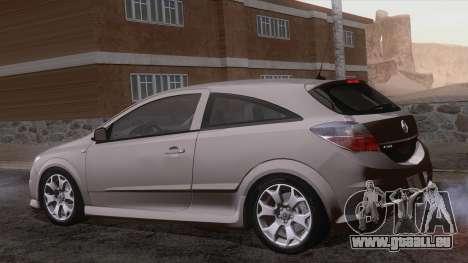Vauxhall Astra VXR  2007 für GTA San Andreas Seitenansicht