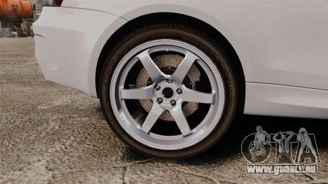 BMW 1M 2014 pour GTA 4 Vue arrière