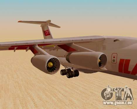 Il-76td IlAvia für GTA San Andreas rechten Ansicht