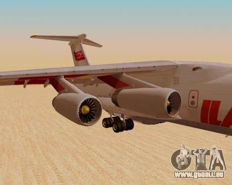 IlAvia il-76td pour GTA San Andreas vue de droite
