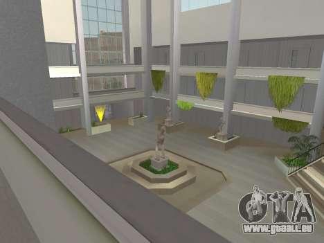 Texture améliorée intérieur « atrium » pour GTA San Andreas cinquième écran