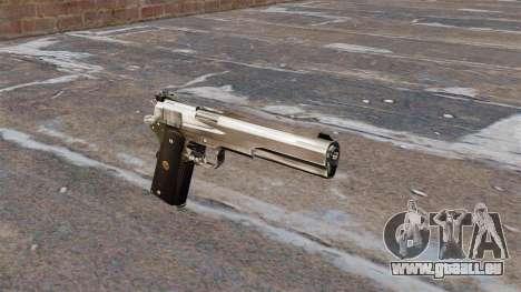 Le pistolet semi-automatique AMT Hardballer pour GTA 4