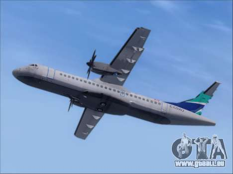 ATR 72-500 WestJet Airlines für GTA San Andreas Rückansicht