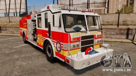 Firetruck LCFR [ELS] pour GTA 4