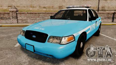 Ford Crown Victoria NYPD [ELS] pour GTA 4