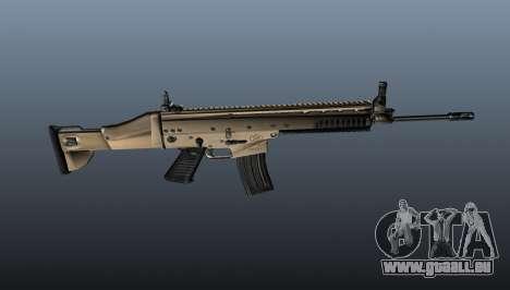 Fusil d'assaut SCAR-L pour GTA 4 troisième écran