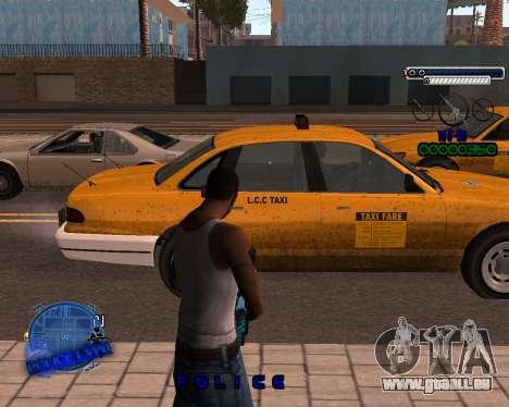 C-HUD Police LVPD für GTA San Andreas zweiten Screenshot