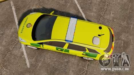 Hyundai i40 Tourer [ELS] London Ambulance für GTA 4 rechte Ansicht