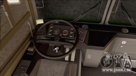 MAZ 105.060 pour GTA San Andreas sur la vue arrière gauche