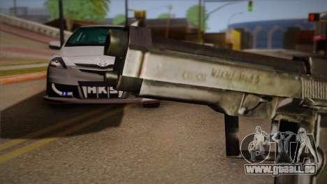 Le pistolet de la Max Payne pour GTA San Andreas troisième écran